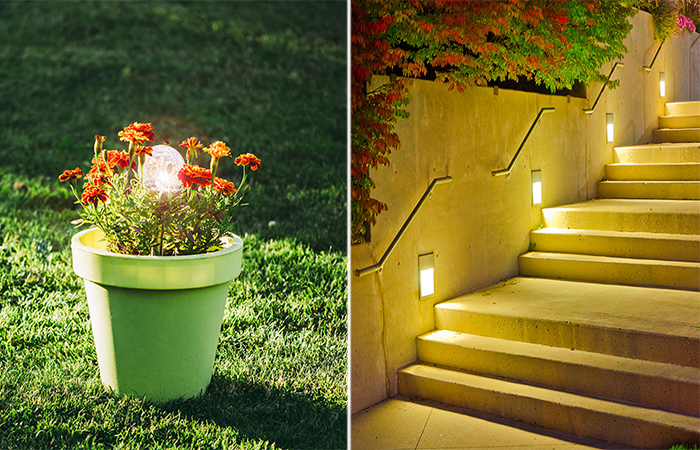 15 заманчивых идей освещения дачного участка и сада