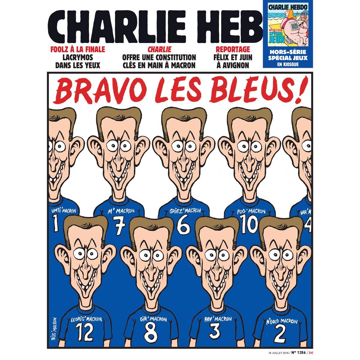 Charlie Hebdo сравнил сборну…