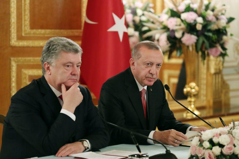 Эрдоган пообещал Порошенко: Турция никогда не признает российский Крым
