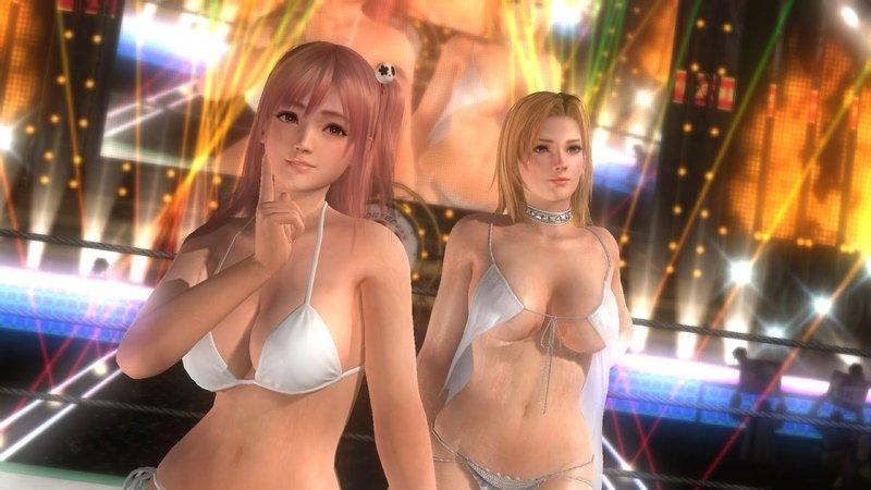 В VR-игре DOA: Xtreme Sense можно нюхать пышногрудых красоток