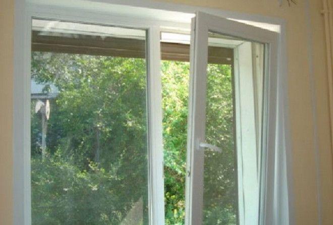 Как закрыть пластиковое окно, если его заклинило открытым в две стороны