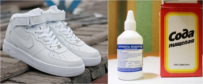 Как вернуть кроссовкам белиз…