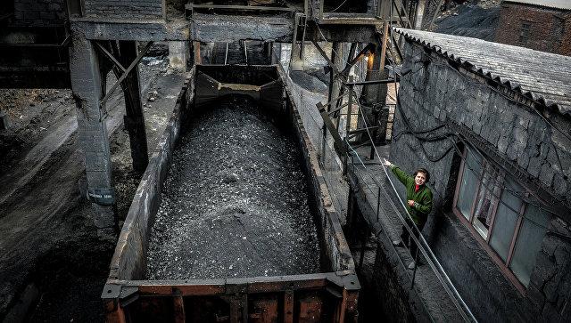 Киев приказал конфисковать уголь из Донбасса