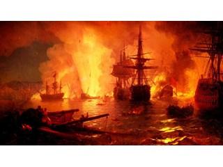 Чесменское сражение 26 июня (7 июля) 1770 года является блистательной и уникальной победой русского флота