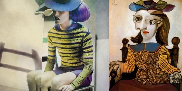 Картины Пабло Пикассо оживили