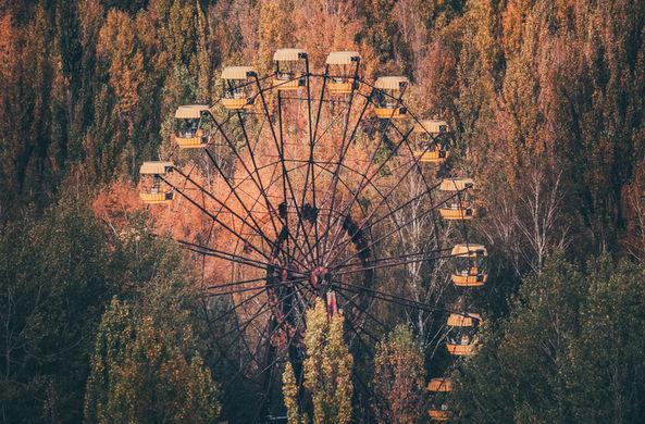 В Припяти запустили колесо обозрения