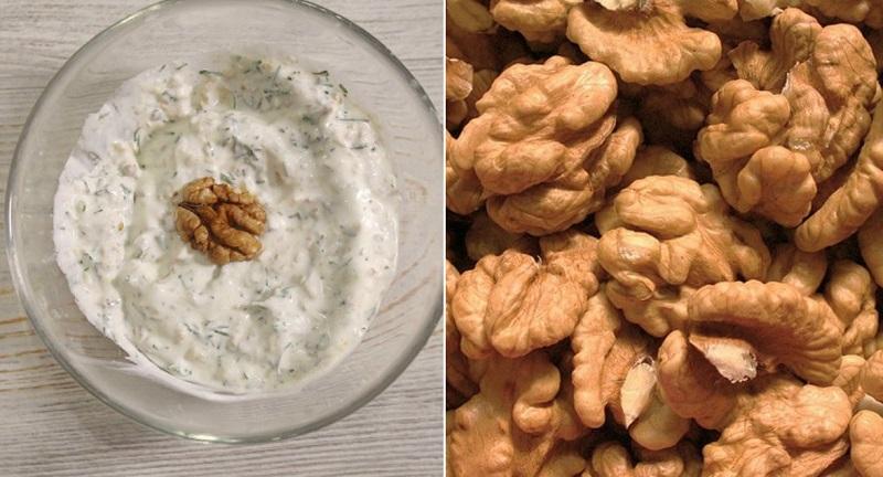 как приготовить соус с орехами