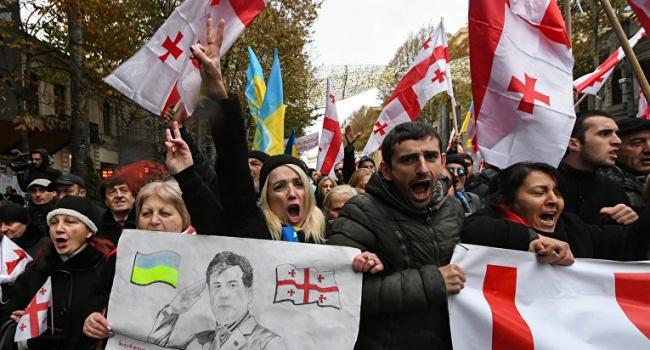 В Грузии соратники Саакашвили выдвинули ультиматум украинским властям
