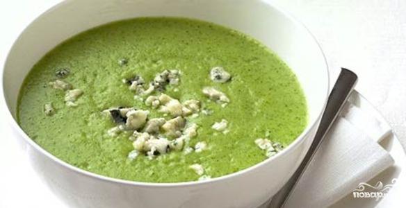 Сырный крем-суп с брокколи