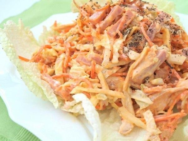 Вкусный и сытный салат «Анастасия» из доступных ингредиентов. Супер сочетание!