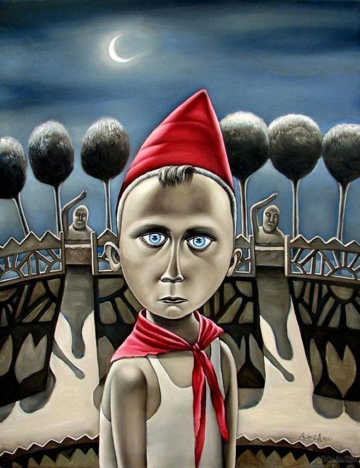 Назад в СССР: Потрясающие картины художницы из Донецка