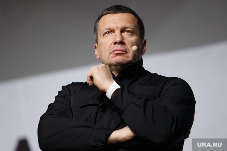 Соловьев заявил, что «мерзкий Полиграфыч вывел на улицу 2% дерьма». ВИДЕО