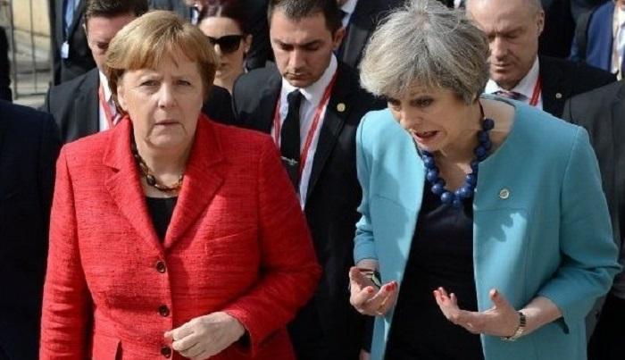 Ангела Меркель публично оско…