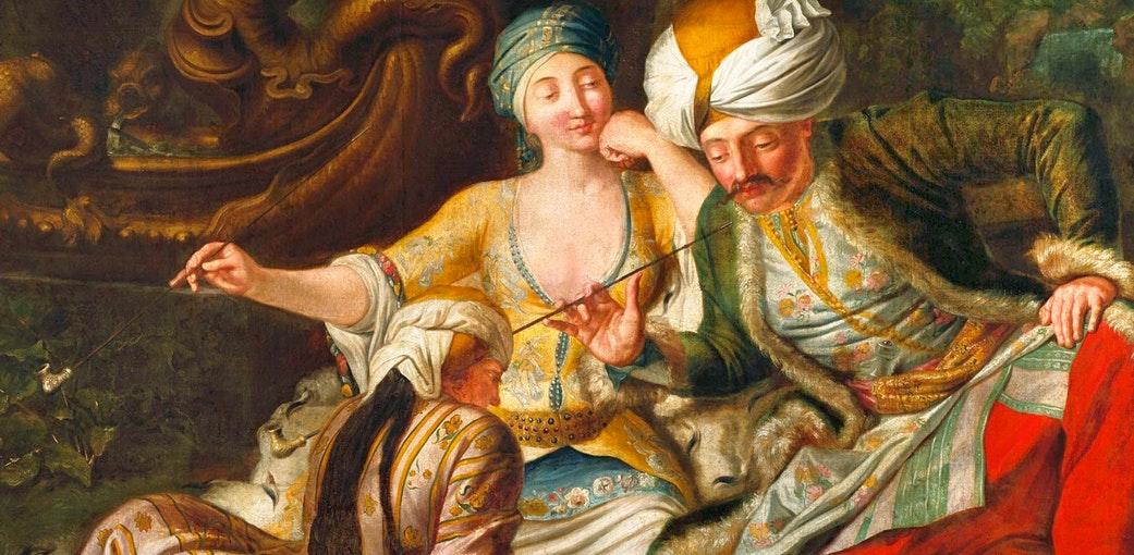 Султанский евнух: Работа мечты 17 века