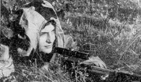 10 легендарных русских снайперов Второй мировой войны!