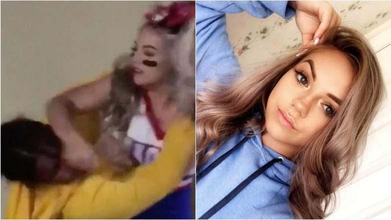 Изящная школьница-чирлидерша включила режим берсерка и стала мемом