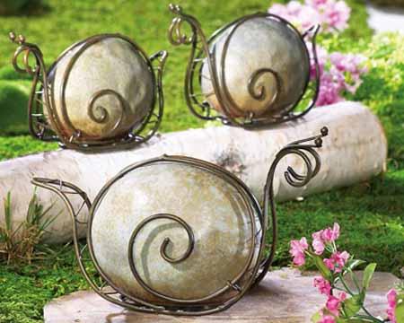 Садовые фигурки из метала своими руками
