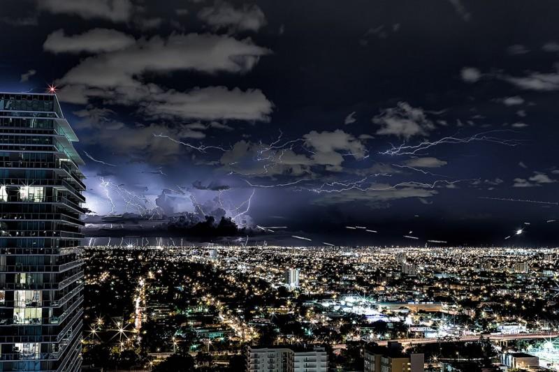 thunders11 800x533 Молнии над Майами