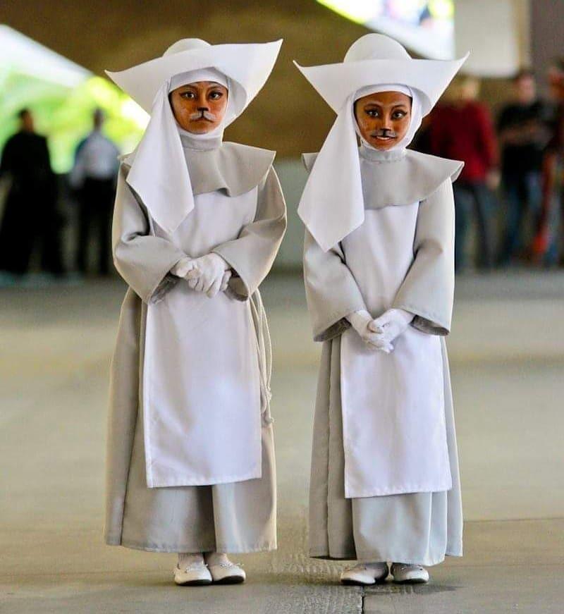 Мастера перевоплощений: 11-летние близнецы покорили сеть своими костюмами