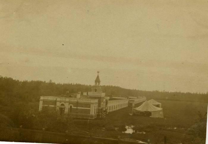 Петергофский аэродром в 1922 году.