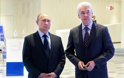 Путин высоко оценил достижения Собянина по формированию комфортного города