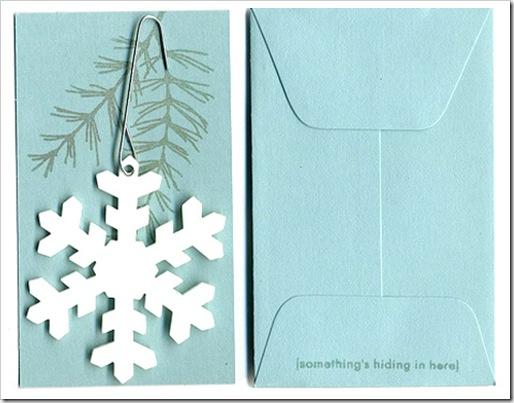 Открытки своими руками из бумаги на новый год