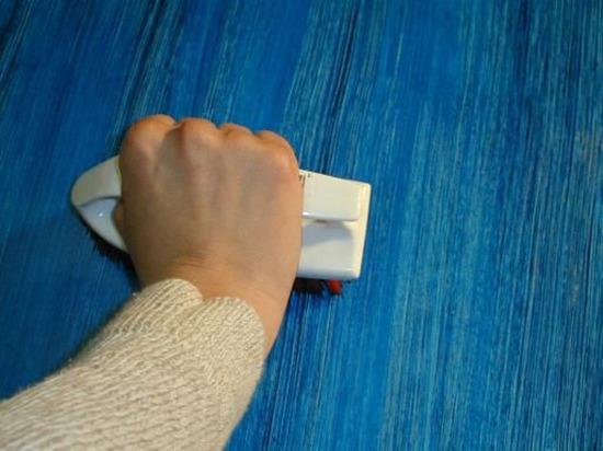 Как покрасить рельефную