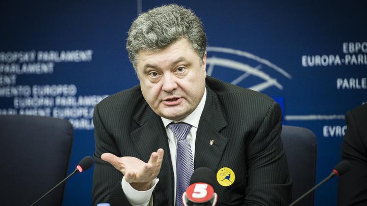 «Сказки дида Петро»: Соцсети оценили слова Порошенко о «перехвате» данных российских спутников