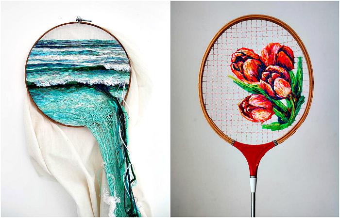 Произведения искусства, которые доказывают, что вышивка - это не скучно