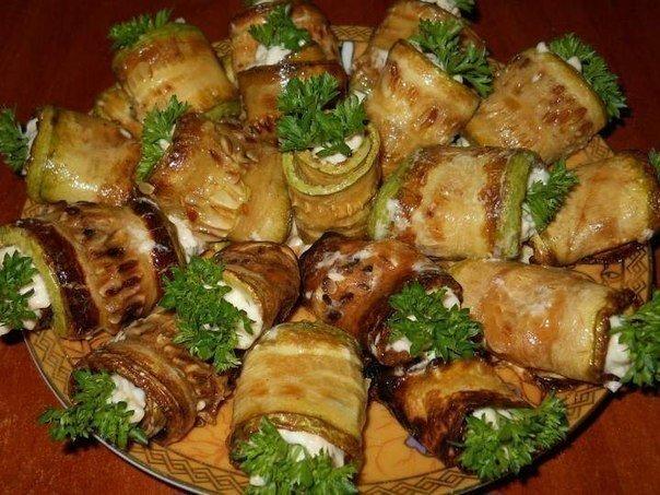 Рулетики из кабачков рецепты с фаршем