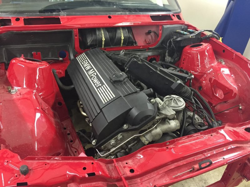 Вторая жизнь - BMW E30 M3 E30, bmw, m3, восстановление, реставрация