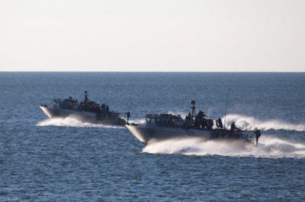 В водах Крыма заметили новейшие катера БК-18