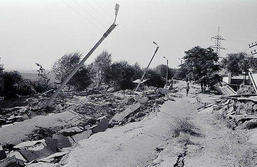 Кайраккумское землятрисение 13 октября 1985 года