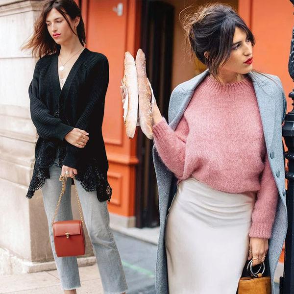 Привет из Парижа: что носят француженки в прохладную погоду