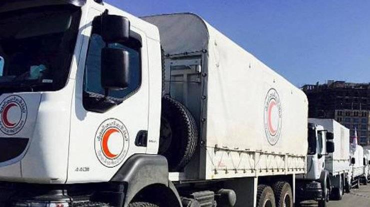 Дамаск: ООН направляет гумпомощь в районы, контролируемые боевиками