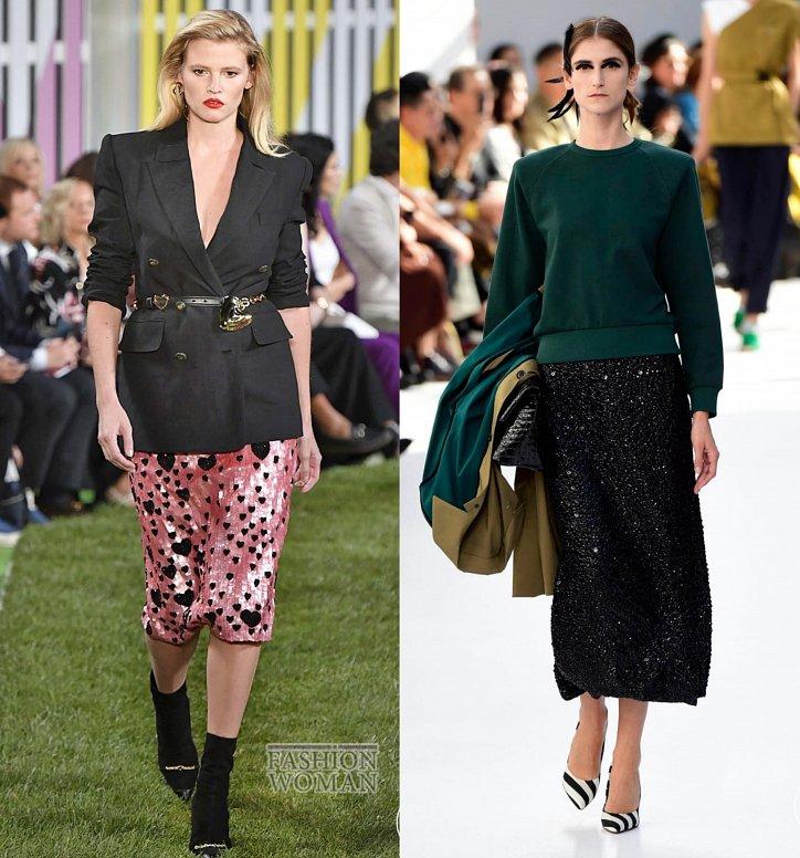 Модные юбки весна-лето 2019 фото №59