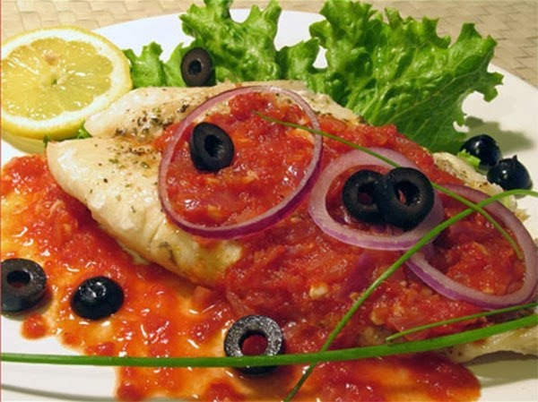 Рыба по-египетски