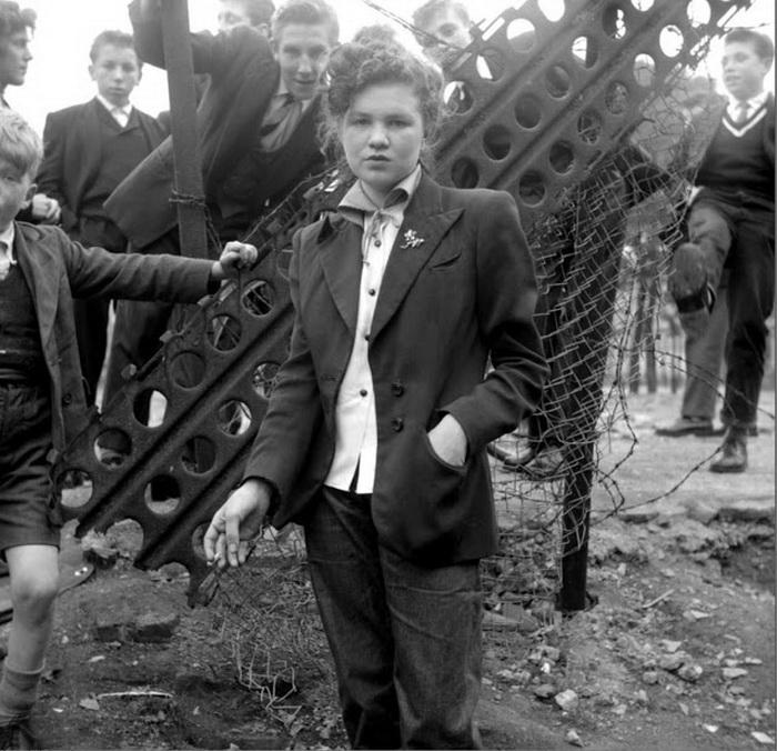 """Стильные """"пацанки"""": тедди-герлз - забытая британская субкультура"""
