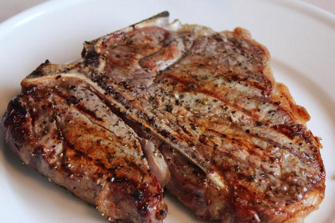 Как пожарить мясо без масла