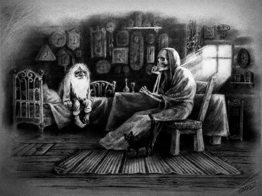 Старик и смерть (сказка для взрослых)
