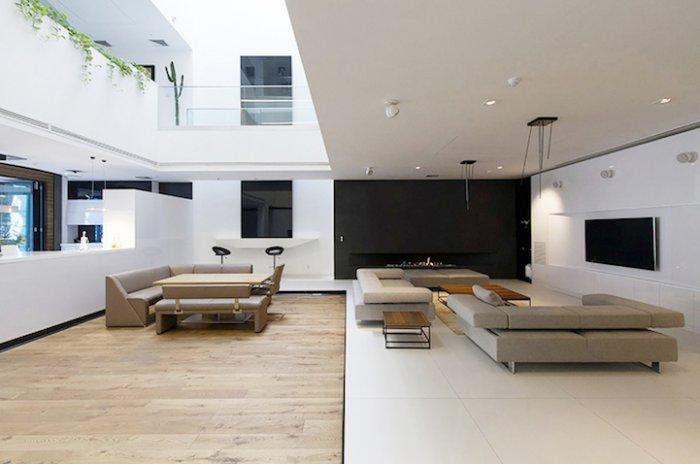 Дом с мобильными комнатами