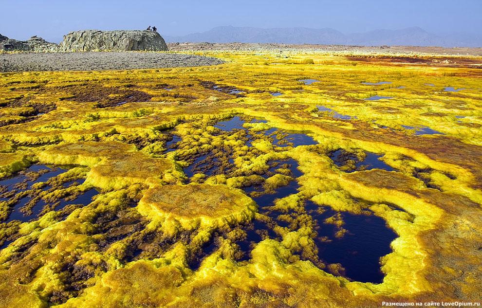 Инопланетные пейзажи на Земле: вулкан Даллол