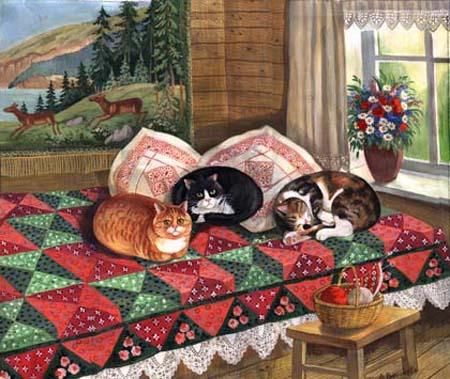 Коты Петербурга - Татьяна Родионова
