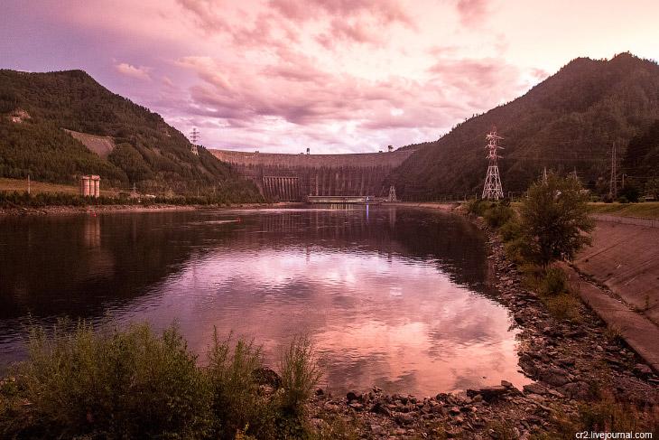Саяно-Шушенской ГЭС