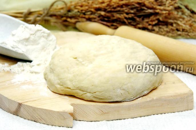 Тесто «как пух» на кефире для пирожков