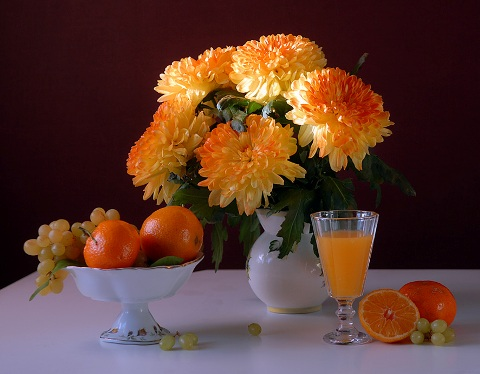 Чтобы хризантемы пышно цвели…