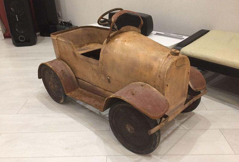 Первый педальный автомобиль СССР - ГАЗ 1934 года