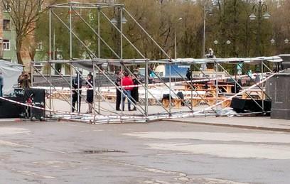 В Перми при обрушении металлической конструкции пострадали 10 человек