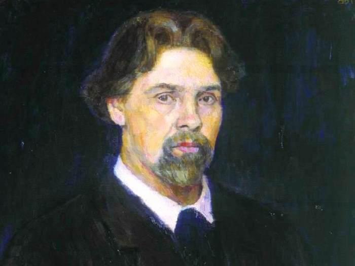 В. Суриков. Автопортрет, 1913