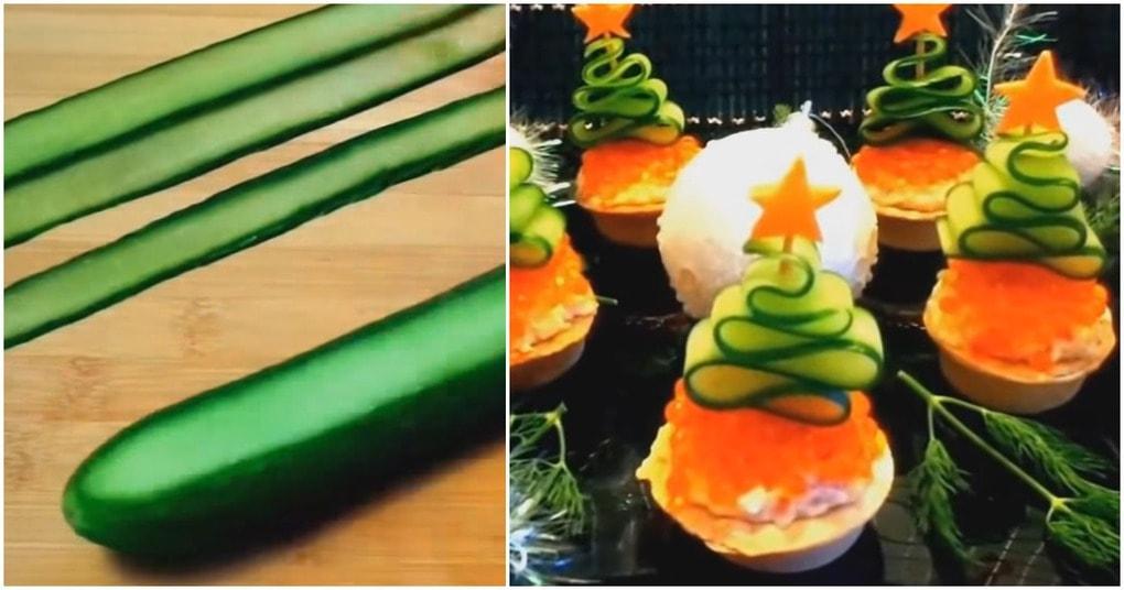 Новогодние закуски — лакомства, приправленные духом праздника